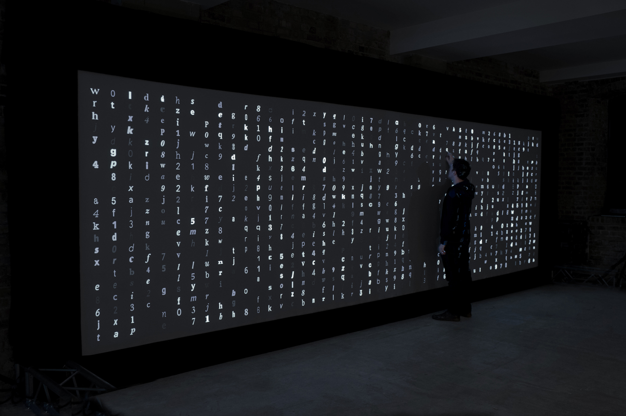 marcin ignac digital type wall